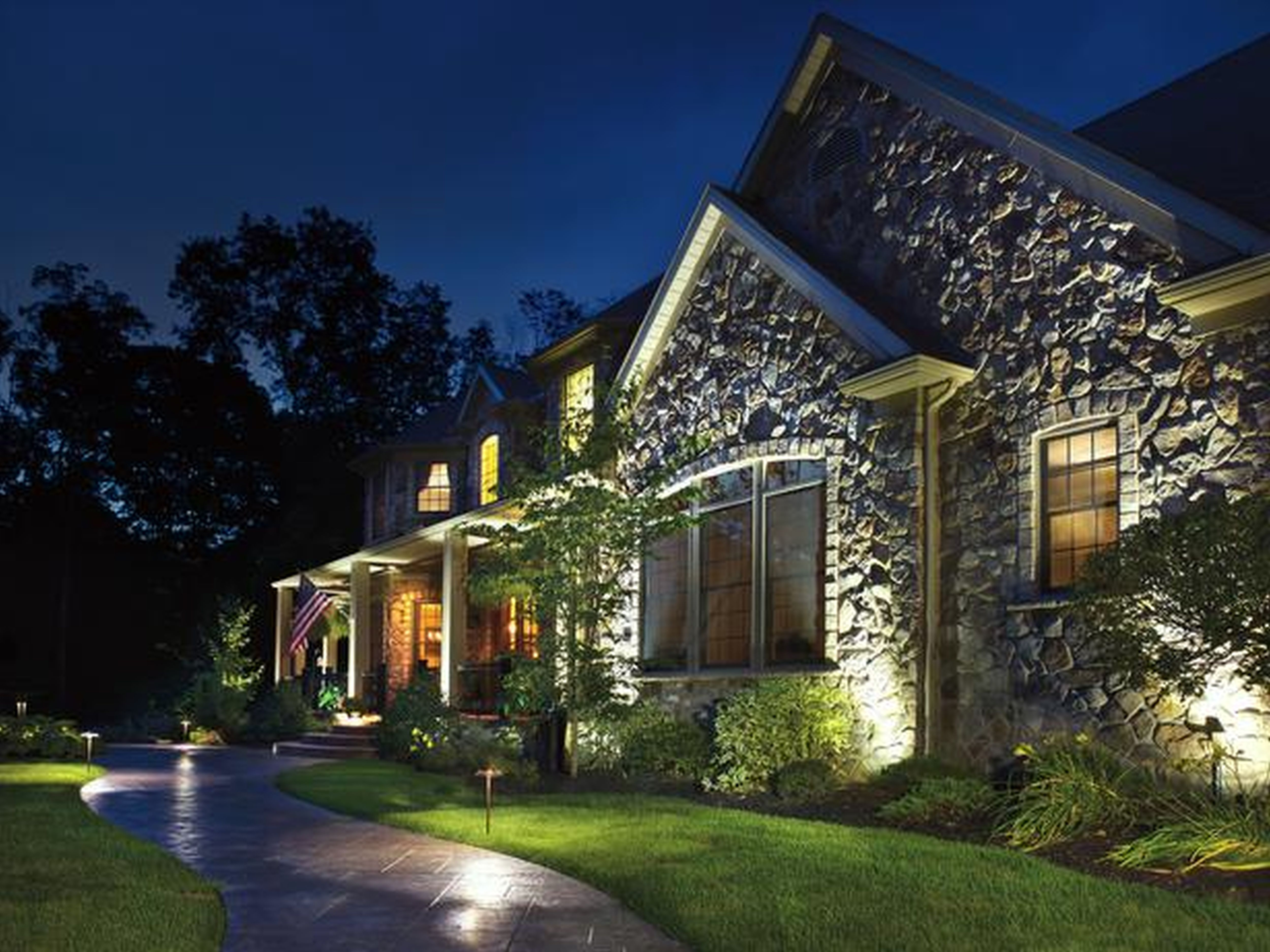 awesome marvelous and fabulous home landscape lighting ideas with